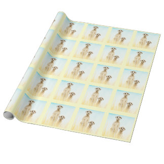 Meerkats Wrapping Paper