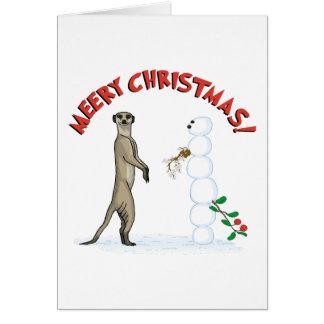 Meery Christmas Card