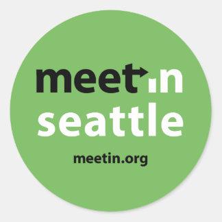 Meet-in Seattle sticker