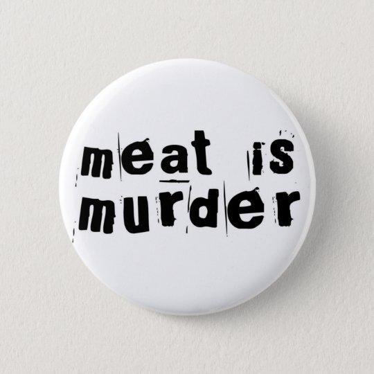 Meet Is Murder 6 Cm Round Badge