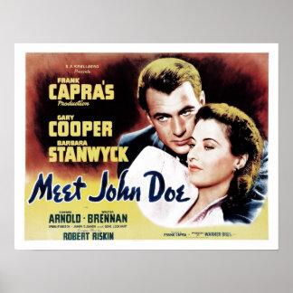 """Meet John Doe"" Poster"