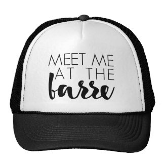 Meet Me at the Barre | Ballet Quote Cap