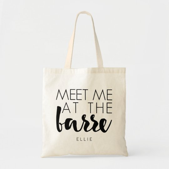 Meet Me at the Barre   Personalised Ballet