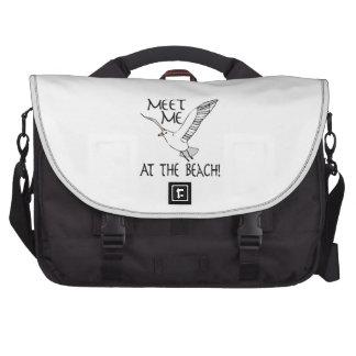 Meet Me At The Beach! Laptop Bag