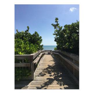Meet me at the beach postcard