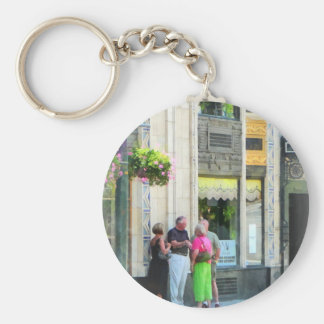 Meet Me at the S&W Basic Round Button Key Ring
