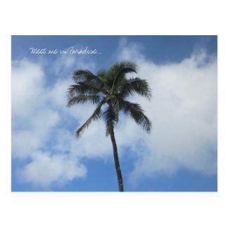 Meet me in Paradise postcard
