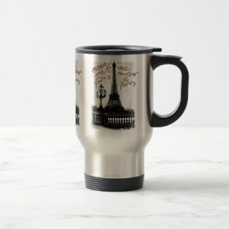 Meet Me In Paris, Travel Mug