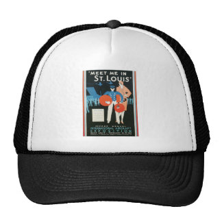 Meet Me in St. Louis Int'l Aircraft Exposition Trucker Hats