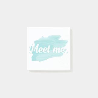 Meet Me Post-it® Notes