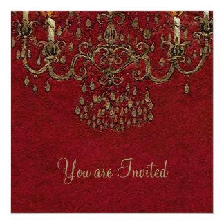 Meet Me Under the Chandelier ~ Invitations
