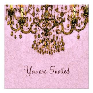 Meet Me Under the Chandelier Invitations