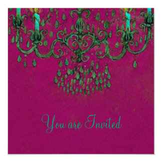 Meet Me Under the Chandelier ~ Invitations