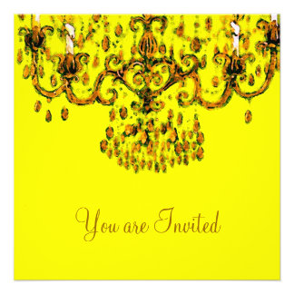 Meet Me Under the Chandelier Invitations RSVP