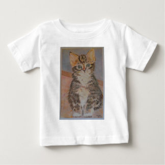 Meet Nelson, a super cute kitten design Baby T-Shirt