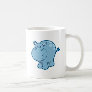 Meet the Blue Hippo! Coffee Mug