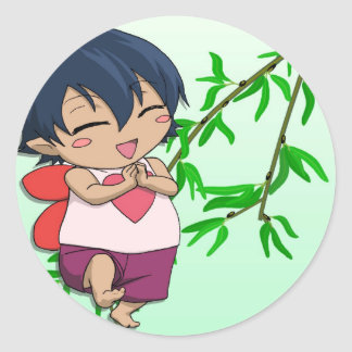Meet the Love Fairy Classic Round Sticker