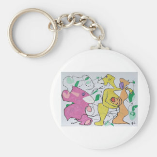 Meet the Wife Basic Round Button Key Ring