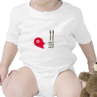 Meet Your Meat Baby Bodysuit