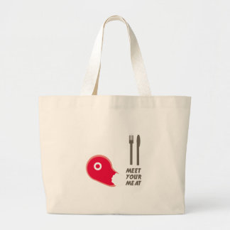 Meet Your Meat Canvas Bags