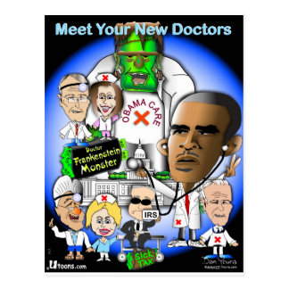 Meet Your New Doctors Postcard