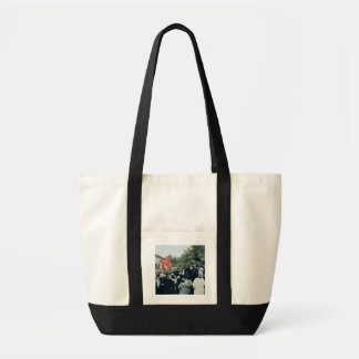 Meeting at the Mur des Federes - Pere Lachaise, 18 Impulse Tote Bag