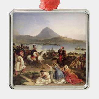 Meeting Between General Nicolas Joseph Maison Christmas Ornament