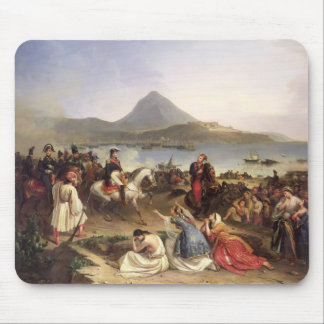 Meeting Between General Nicolas Joseph Maison Mouse Pad