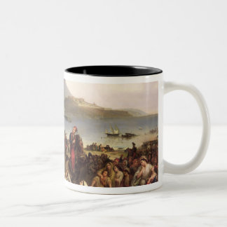 Meeting Between General Nicolas Joseph Maison Two-Tone Coffee Mug
