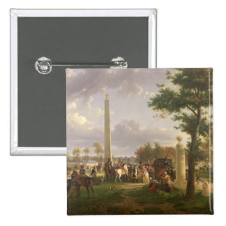 Meeting between Napoleon I  and Pope 15 Cm Square Badge