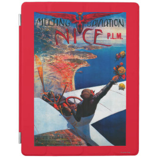 Meeting D' Aviation in Nice, France Poster iPad Cover