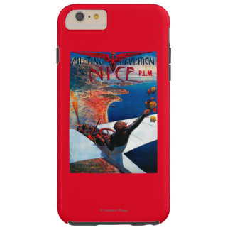 Meeting D' Aviation in Nice, France Poster Tough iPhone 6 Plus Case