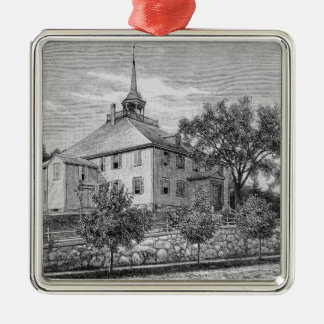 Meeting House at Hingham Christmas Ornament