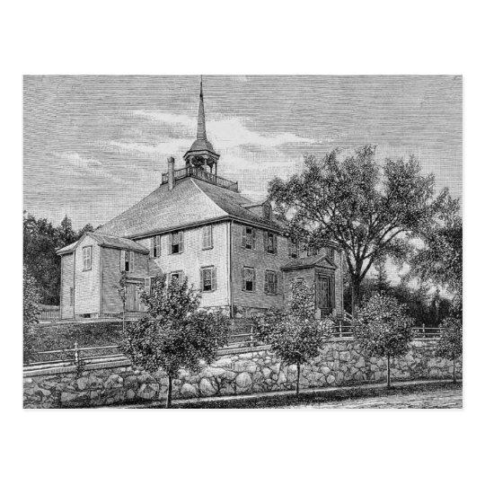 Meeting House at Hingham Postcard