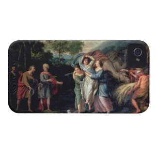 Meeting of Jacob and Laban with Rachel, Leah and S iPhone 4 Case-Mate Cases