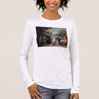 Meeting of Jacob and Laban with Rachel, Leah and S Long Sleeve T-Shirt