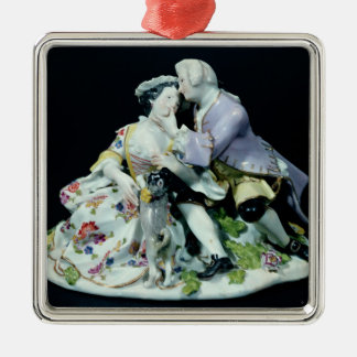 Meeting of Lovers Christmas Ornament