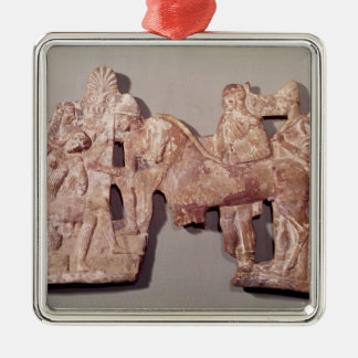 Meeting of Orestes and Electra at Agamemnon Christmas Ornament