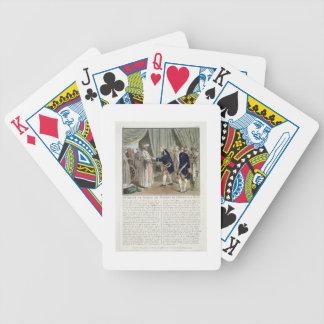 Meeting of Pierre Andre de Suffren de Saint Tropez Bicycle Playing Cards