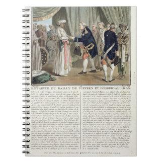 Meeting of Pierre Andre de Suffren de Saint Tropez Notebook