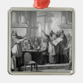 Meeting of St. Augustine and the Donatists Christmas Ornament