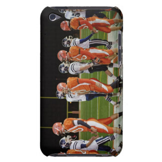 Meeting of teams of American football in field, Barely There iPod Cases