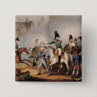 Meeting of the Emperors of Russian and Austria, Ki 15 Cm Square Badge