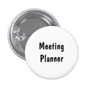 Meeting Planner 3 Cm Round Badge