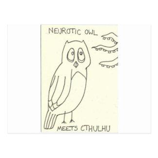 . . . Meets Cthulhu Postcard