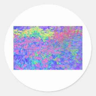 meets Monet Classic Round Sticker