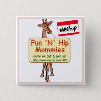 Meetup Button Fun N Hip Mommies MD, DC, VA