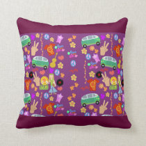 Mega 60s Pattern Fun Cushion