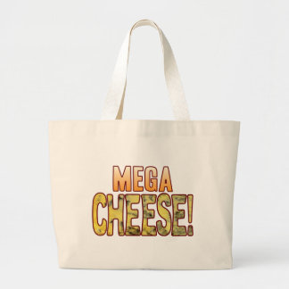 Mega Blue Cheese Large Tote Bag