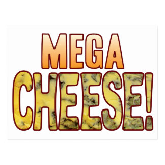 Mega Blue Cheese Postcard